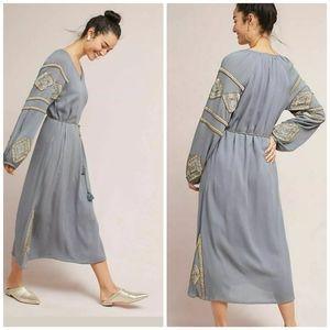 Anthropologie Celestia Tunic Dress